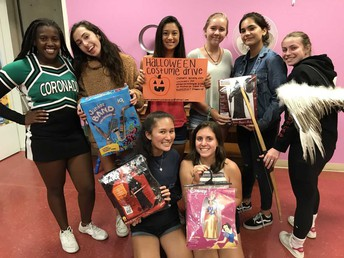 Girl Scout Troop 5548 is collecting gently used HALLOWEEN COSTUMES:
