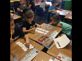 First Graders Sorting