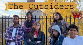 """WHS Theater Arts Presents """"The Outsiders"""""""
