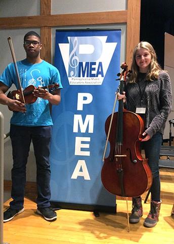 Cheltenham Orchestra Players Compete at PMEA Festival