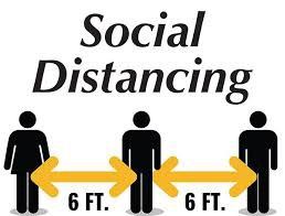 Keep social distance.