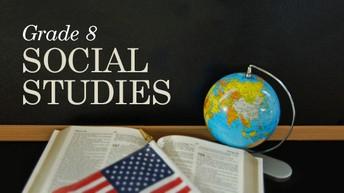 8th Grade Social Studies Curriculum