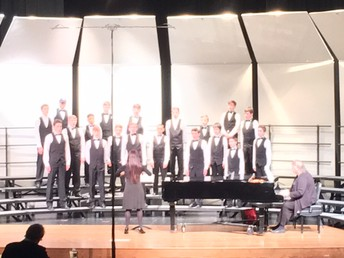 SVMS Non Varsity Tenor Bass Choir