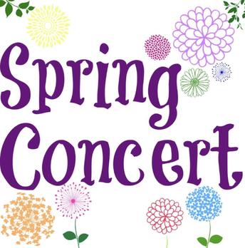 Spring Concert Update