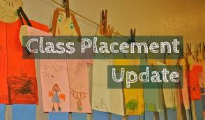 2018-2019 Classroom Placements