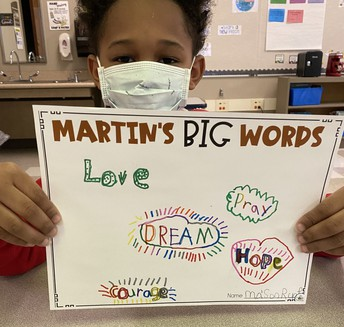 Martin's Big Words projects
