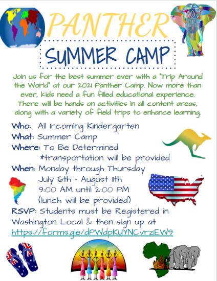Panther Summer Camp