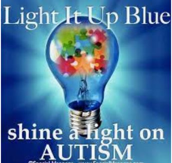 Light it up BLUE on April 23rd to shine a light on Autism