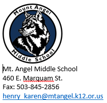monte Contacto de Angel Middle School