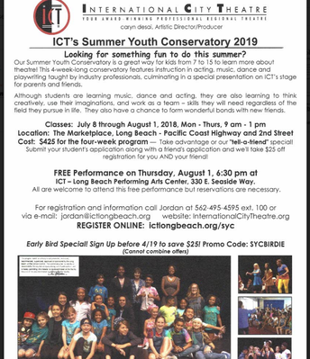 Summer Theater Camp!