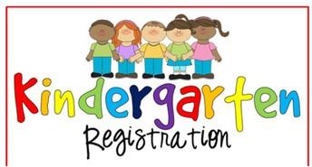 Kindergarten Registration Open Now-November 1