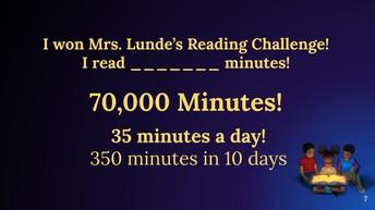 Reading Challenge...