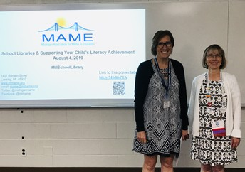 MAME at the Michigan PTA Annual Convention