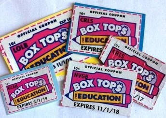 Box Tops- Final Week to turn in!
