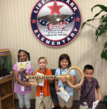 Soaring Eagle Badge Winners!  (Friday the 23rd)