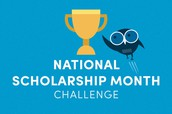 Take the National Scholarship Month Challenge