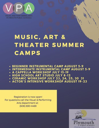Music, Art & Theater Camps