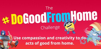 #DoGoodFromHome