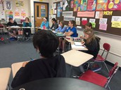 Socratic Seminar in Mrs. Lowman's Class