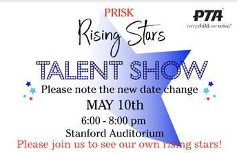 Talent Show Date Change!