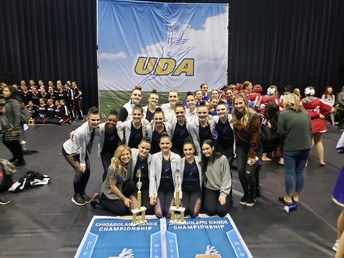 Dance team wins at Regionals