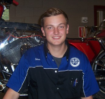 Ethan Clark Named UBCTS Student of the Month for December 2020