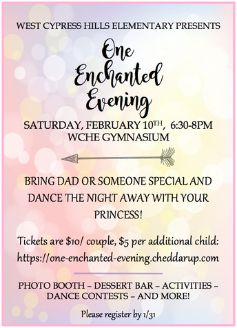 One Enchanted Evening Dance - Buy Your Tickets by January 31!