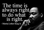 Martin Luther King, Jr. Holiday 1-16-17
