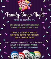 Family Bingo Night • 4/28