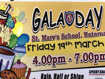 GALA DAY - see you on Friday