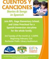 Cuentos Y Canciones (Stories & Songs in Spanish)