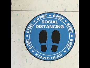 Social Distancing Mark