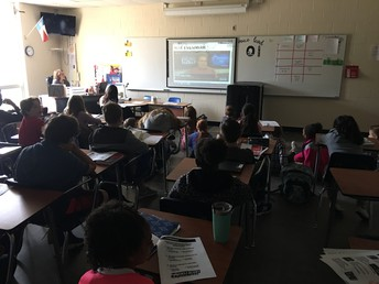 Each Classroom Watched the Project Tornado Presentation