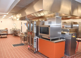 Culinary lab at Western High School
