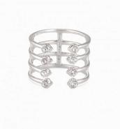 Gemini ring-silver