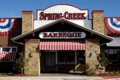 October 17 - Dining Night Out at Spring Creek BBQ