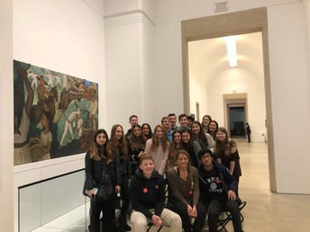 LMHS Spanish Club Took a Field Trip to the Phila. Museum of Art
