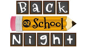 Meet and Greet Night and Back to School info for the 2018-19 School Year