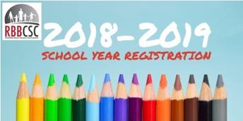 2018-2019 Registration Information
