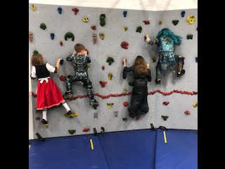 Mr. O had a Haunted Obstacle Course in the Gym this week!