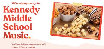 Popcornopolis Fundraiser (Recaudación de fondos de Popcornopolis)