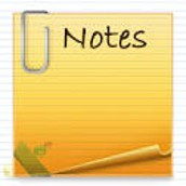 A Note About Notes....